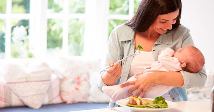 питание при кормлении грудью