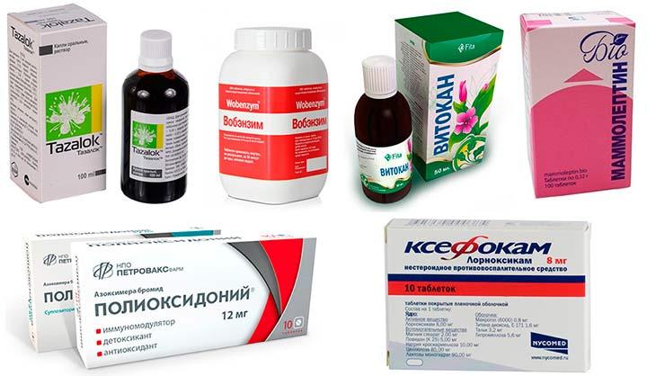 не гормональные препараты
