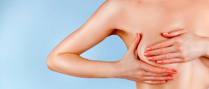 симптом опухоли груди
