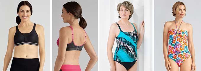 спортивное белье и купальник после мастэктомии