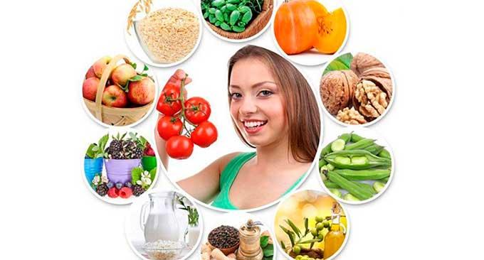 питание для женщины
