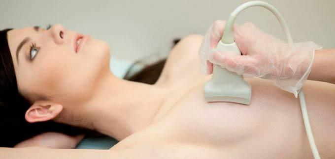 УЗИ тканей молочной железы