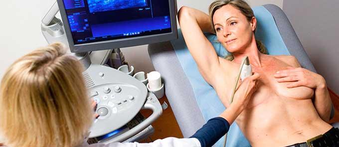 УЗИ молочных желез и женщин