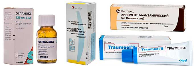 препараты для лечения МЖ