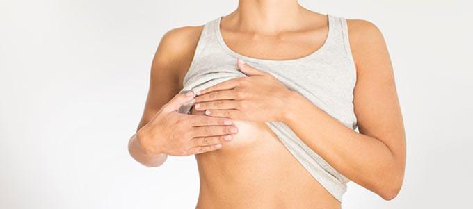 Неприятные ощущение в груди у женщины