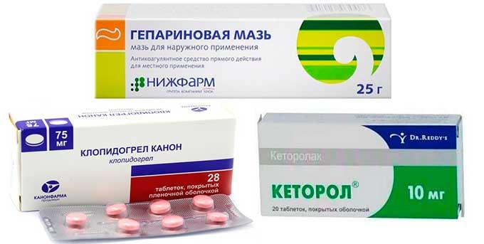 Препараты при ушибах
