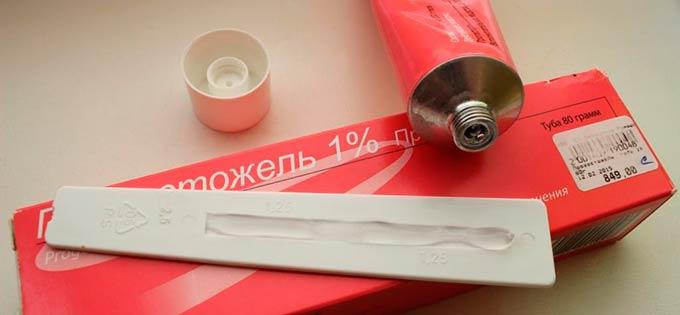 Туба и упаковка геля Прожестожель