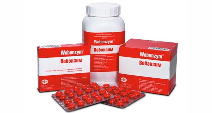 Лекарство Вобэнзим